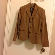 Ralph Lauren Jacket/blazer Amazing and extremely classy jacket. Ralph Lauren brand. Lovely to wear on a daily basis with jeans and a white Tank and for any other occasions. Worn only once. As many of my other listings, bought it when i was heavier and now that i have lost weight, it doesnt fit me as well. Excellent condition. Almost new. You will love it!!!!! Ralph Lauren Jackets & Coats Blazers