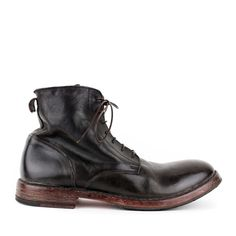 Handsome and rugged is how we would characterize this work boot style from MOMA.