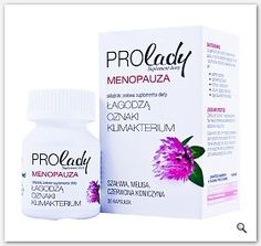 PROLADY Menopauza kapsułki łagodzące oznaki klimakterium 30kaps