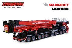Mammoet Liebherr Lego: