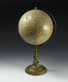 Lade's relief model of the moon, by Dietrich Reimer (Ernst Vohsen), Berlin, 1899 Moon Globe, Celestial Map, Space Gallery, Earth From Space, Stonehenge, National Museum, Stargazing, Architecture, Constellations