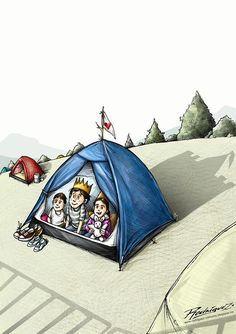 My Home is my Castle  Cartoon by Antonio Rodriguez Garcia , Mexico