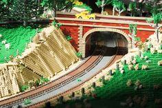 Victorian Trains Display (18) #LEGO #Brickvention #Melbourne