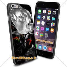 WhiteRose Wallpaper Art Design Phone Case Iphone Case, For-You-Case Iphone 6 Silicone Case Cover NEW fashionable Unique Design
