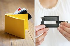 ChargeCard USB charger fits in your wallet!