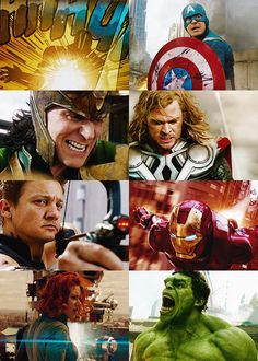 Avengers. http://lordharrypotter.tumblr.com/post/52110686083 I just love the Avengers! This makes my Top 5 favorite movies.