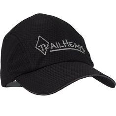 TrailHeads Race Day Running Cap - black silver logo 0a01f1a6e62a