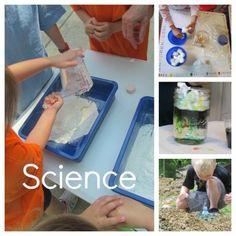 Science at Teach Preschool