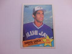 Damaso Garcia 1985 Topps Baseball Card
