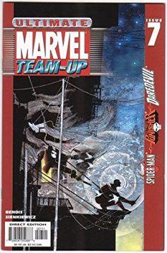 Ultimate Marvel Team-Up 7 Marvel Comic books modern era cover Punisher Daredevil Spider-man Marvel Comic Books, Marvel Characters, Marvel Comics, Ultimate Marvel, Brian Michael Bendis, Daredevil, Punisher, Comic Covers, Cover Art