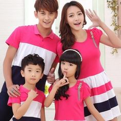 Family Summer Look Matching Outfits Family Picture Outfits, Matching Family Outfits, Matching Clothes, I Dress, Dress Outfits, Cheap Dress Shoes, Mommy And Me Outfits, Father And Son, Striped Shorts