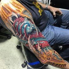 Roman abrego tattoo S Tattoo, Body Tattoos, Sleeve Tattoos, Color Tattoos, Tatoos, Body Tattoo Design, Tattoo Designs, Unique Tattoos, Beautiful Tattoos