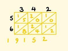 Lattice multiplication - Mathematics made easy - How to do Lattice Multiplication for 2 digits. How to do 2 digit lattice multiplication. Lattice Multiplicat...