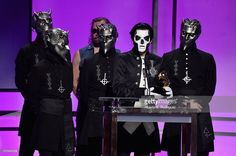 Ghost at the Grammys!  :D ♥