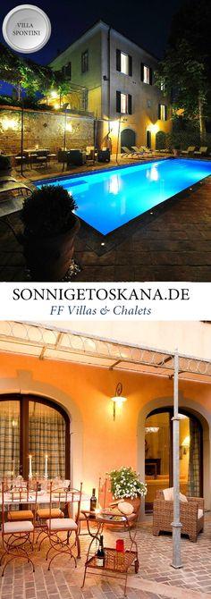 www.sonnigetoskana.de || Villa Spontini || Toskana - Pisa Region || Die Villa wurde mit sehr viel Geschmack und auf jedes Detail achtend, mit Möbeln und Accessoires aus dem 19. Jahrhundert eingerichtet. Dadurch gewinnt die Villa eine besondere Eleganz, die auch noch einmal durch die schönen originalen Decken des Hauses aufgewertet wird. Für bis zu 13 Personen geignet. #Toskana #Ferienhaus #Urlaub #Reisen #Villa #SonnigeToskana #Luxus #wanderlust #vacation #hochzeit #honeymoon #familienurlaub