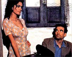 Massimo Troisi e Mariagrazia Cucinotta