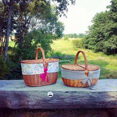 #picnic #picnicday #picnicbasket #basket #picnicblanket #handmade #design #village #summer