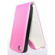 Apple iPhone 4 vaaleanpunainen läppäkotelo. Iphone 4, Apple Iphone