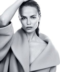 modelmeth:  Natasha Poly is photographed by Daniel Jackson for the September 2014 issue of Harper's Bazaar US.