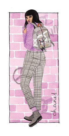 Stella Magazine - Laura Callaghan Illustration