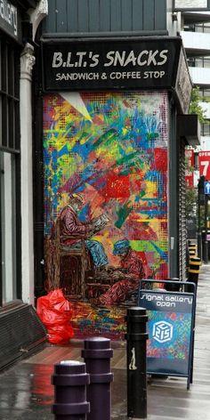 London - shoreditch - street art