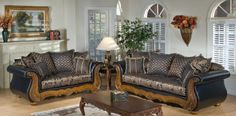 4150 Winnie Sofa & Loveseat in Candytuft Storm by Chelsea