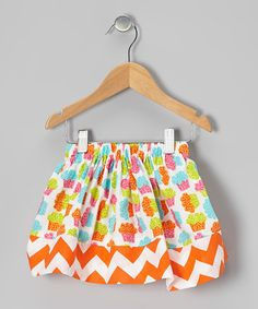 Take a look at this Rainbow Cupcake Zigzag Skirt - Infant, Toddler & Girls by Lily's Chic Baby Boutique on #zulily today!