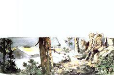 Ken Parker, Montana, Moose Art, Novels, Painting, Animals, Comics, Flathead Lake Montana, Animales