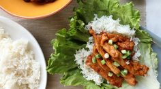 Spicy Korean Pork Lettuce Wraps