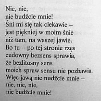 Jeremi Przybora Poem Quotes, Sad Quotes, Life Quotes, Pretty Words, Some Words, Deep Thoughts, Quotations, Texts, Letters