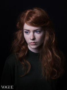 Fotografo - PhotoVogue - Vogue by Aga Rzymek,  model Aleksandra Głuch #portrait