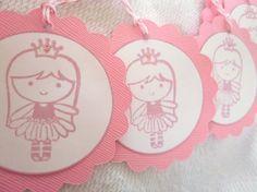 Princess Party tags.
