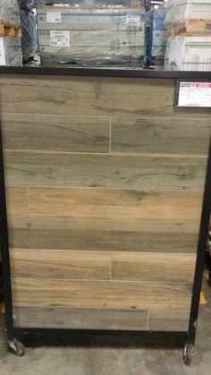 Soft Greige Wood Plank Porcelain Tile For The Home
