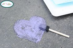 chalkpaint for sidewalk art