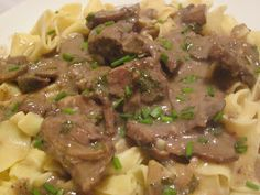 Hungry Couple: Hearty yet Healthy Beef Stroganoff