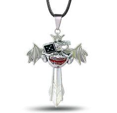 Tokyo Ghoul Metal Cross Necklace Pendant
