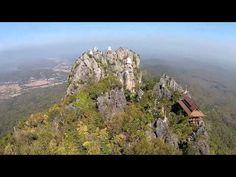 วัดพระพุทธบาทปู่ผาแดง บ้านทุ่งทอง - YouTube