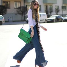 Yeah, She gets it. Palazzo Pants.