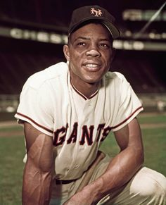 This is an image of Willie Mays, a center fielder for the San Francisco Giants. Willie Mays is considered to be one of the greatest players ever with a lifetime average of with 660 Home Runs and 1903 RBIs. But Football, Baseball Star, Giants Baseball, Better Baseball, Baseball Photos, Sports Baseball, Baseball Players, Basketball, Baseball Games