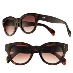 Toirtoise Shell Retro Round Sunglasses by LC Lauren Conrad for Kohl's