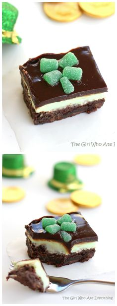 Chocolate Mint Brownies - the-girl-who-ate-everything.com