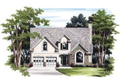 Maxwell - Home Plans and House Plans by Frank Betz Associates