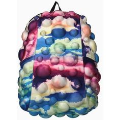 MadPax Kids Bubble School Backpack Full Pack Clouds Cotton Candy FullPack NEW