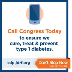 You can still call Congress and urge them to Renew the Special Diabetes Program (SDP). Help #T1D research continue! http://www.jdrfadvocacycall.org/calls/new