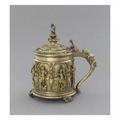 Petite chope à couvercle-Art.fr - Musée national de la Renaissance (Ecouen) (RMN) - déco artistique pour amoureux d'art