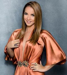 Adamari López - is a Puerto Rican actress famous for participating in several Puerto Rican and Mexican soap operas.