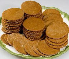 Old Salem, NC  Museum Moravian  Ginger Cookie recipe