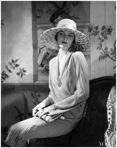 Muriel Finley in Jeanne Lanvin, photographed by Edward Steichen, 1928