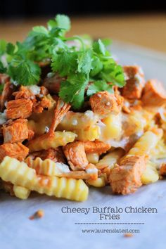Cheesy Buffalo Chicken Fries - Laurens Latest