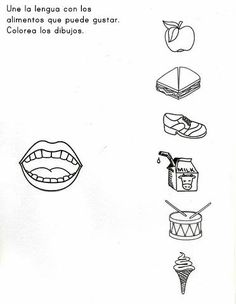 5 Senses Worksheet for Kindergarten Sensory Images Worksheets Five Senses Kindergarten, Kindergarten Sensory, Free Kindergarten Worksheets, Free Preschool, Worksheets For Kids, Preschool Activities, 5 Senses Preschool, Five Senses Worksheet, My Five Senses
